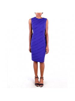 Chancelle Purple Great Stylish Short Dress